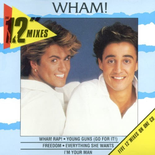 Wham! 12 Inch Mixes Import Aus