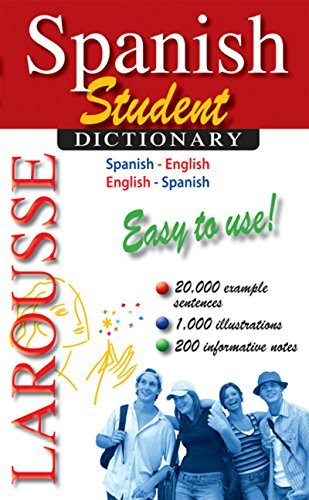 Larousse Larousse Spanish Student Dictionary Spanish English English Spanish