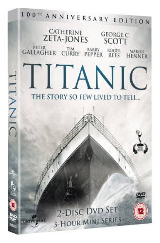 Titanic Zeta Jones Scott Pepper 100th Anniv. Ed. Nr 2 DVD