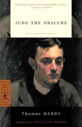 Thomas Hardy Jude The Obscure