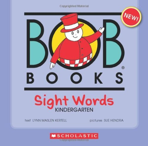 Lynn Maslen Kertell Bob Books Sight Words Kindergarten