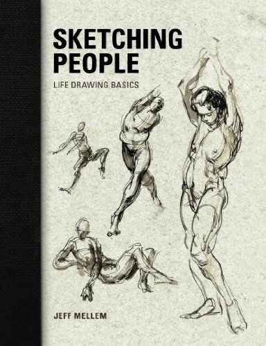 Jeff Mellem Sketching People Life Drawing Basics