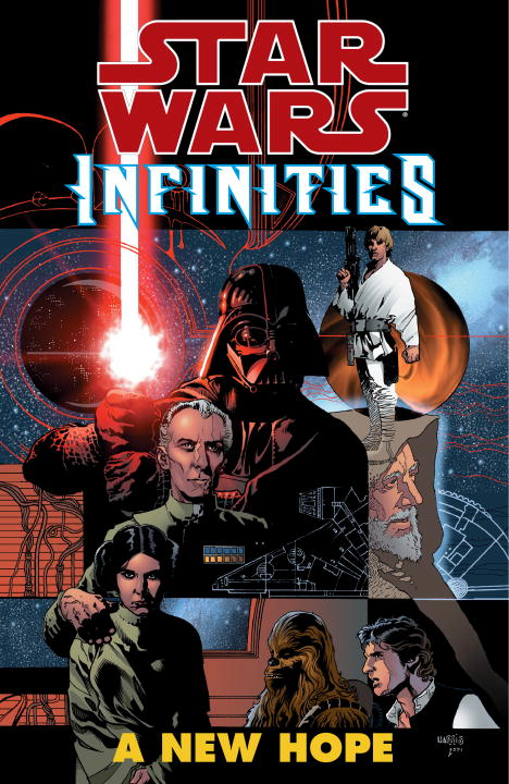 Chris Warner Star Wars Infinities A New Hope