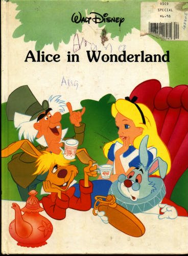 Walt Disney Productions Mouse Works Alice In Wonderland