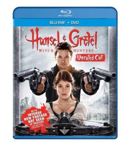 Hansel & Gretel Witch Hunters Renner Janssen Arterton Blu Ray DVD Dc R
