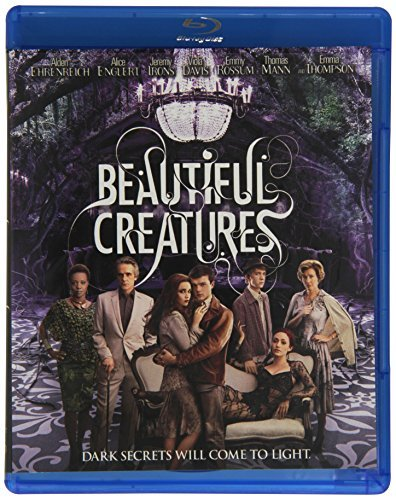 Beautiful Creatures Ehrenreich Englert Irons Blu Ray Ws Pg13 Incl. DVD