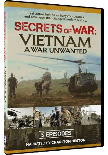 Vietnam A War Unwanted Secrets Of War Tv14 2 DVD