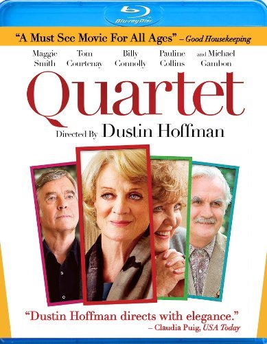 Quartet Smith Courtenay Connolly Blu Ray Ws Pg13