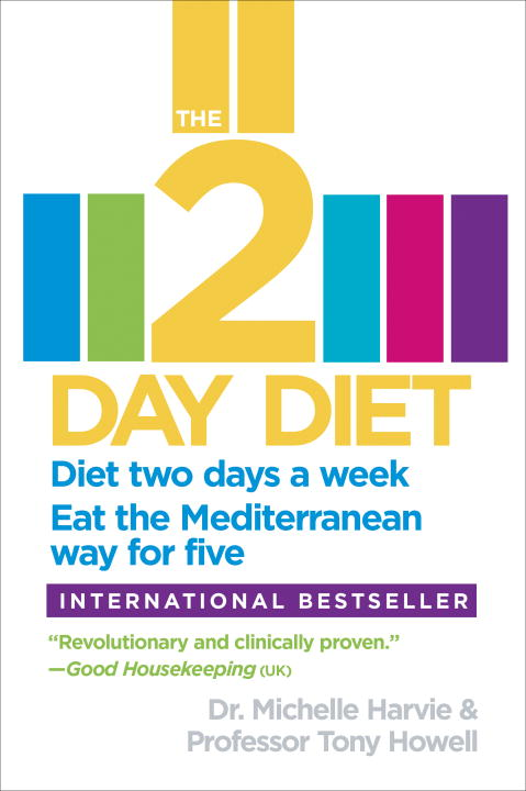 Michelle Harvie The 2 Day Diet Diet Two Days A Week. Eat The Mediterranean Way F