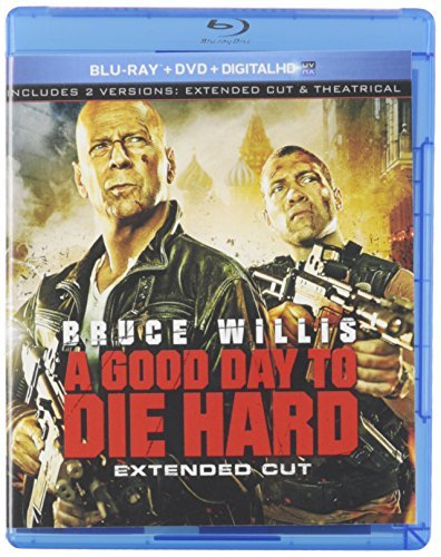 Good Day To Die Hard Willis Courtney Blu Ray Incl. DVD Dc R