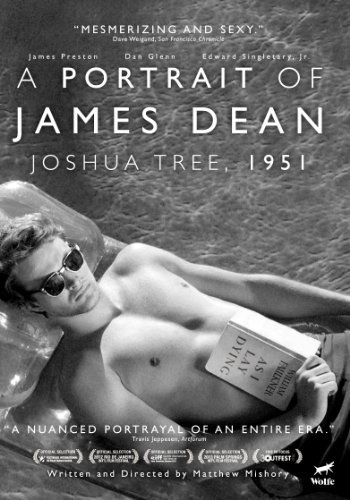 1951 Portrait Of James Dean Joshua Tree Portrait Of James Dean Joshua Tree 1951 Clr Bw Nr