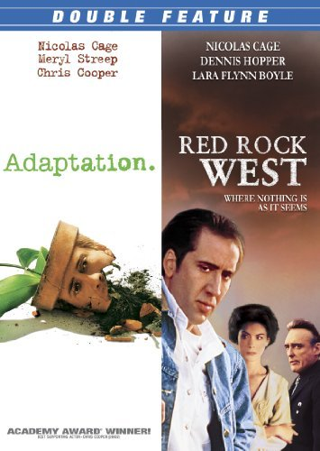 Cage Nicolas Adaptation Red Rock West Double Feature R
