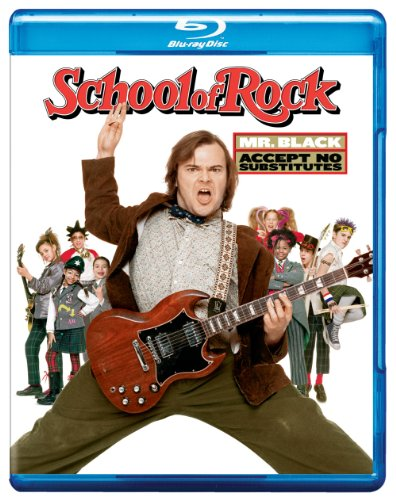 School Of Rock Black Cusack Blu Ray Ws Pg13