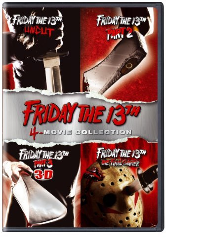 Friday The 13th 1 4 Friday The 13th 1 4 Ws Nr 4 DVD
