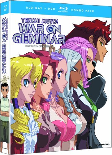 Tenchi Muyo War On Geminar Part 1 Blu Ray Nr Incl. DVD