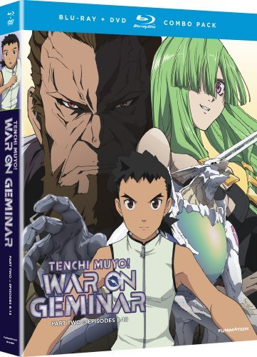 Tenchi Muyo War On Geminar Part 2 Blu Ray Nr Incl. DVD