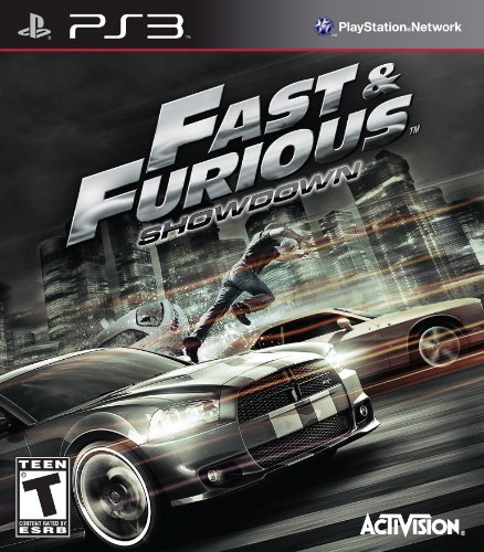Ps3 Fast & Furious Showdown