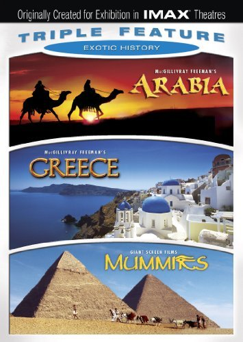 Arabia Greece Mummies Exotic History Triple Feature Ws Nr 3 DVD