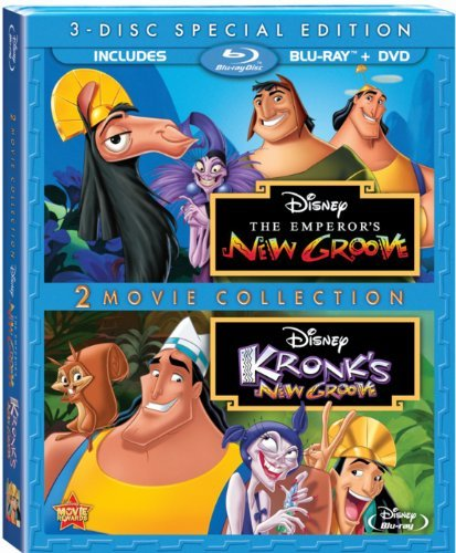 Emperor's New Groove Kronk's New Groove Disney Blu Ray DVD G