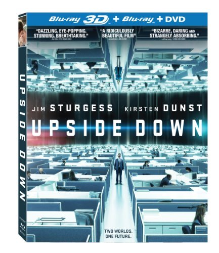 Upside Down 3d 2d Dunst Sturgess Blu Ray Ws Pg13 Incl. DVD