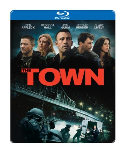 Town Affleck Hall Hamm Blu Ray Ws Steelbook R