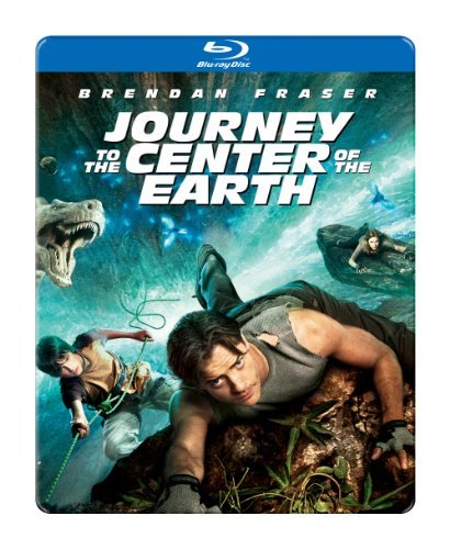 Journey To The Center Of The E Fraser Hutcherson Briem Blu Ray Ws Steelbook