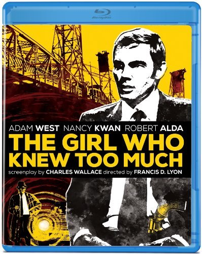 Girl Who Knew Too Much (1969) West Adam Blu Ray Ws R