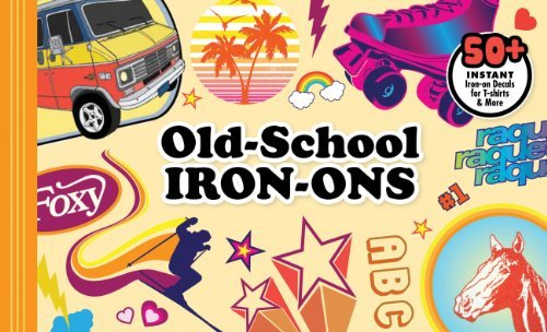 Chronicle Books Old School Iron Ons