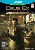 Wii U Deus Ex Human Revolution Director's Cut Square Enix Llc M