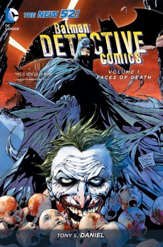 Tony S. Daniel Batman Detective Comics Vol. 1 Faces Of Death (the New