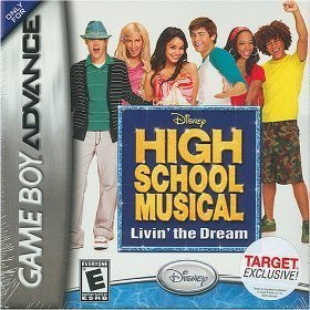 Gba Disney High School Musical Livin' The Dream