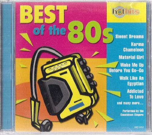 Countdown Singers Hot Hits Best Of The 80's