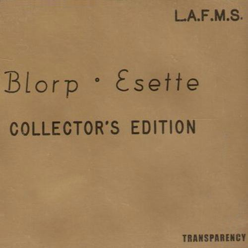 Los Angeles Free Music Society Blorp Esette 4 CD