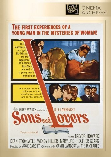 Sons & Lovers Howard Stockwell Hiller Sears DVD R Bw Nr