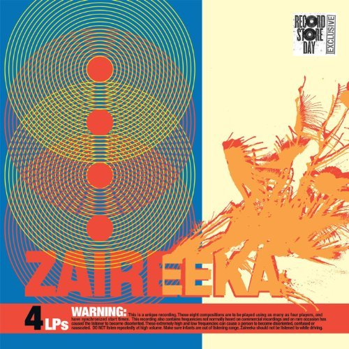 Flaming Lips Zaireeka Colored Vinyl 4 Lp