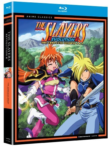 Slayers Season 4 & 5 Slayers Blu Ray Tvpg