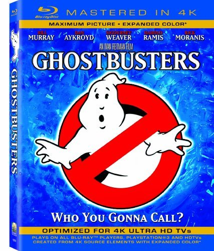 Ghostbusters Ghostbusters Blu Ray 4k Mastered Pg Uv