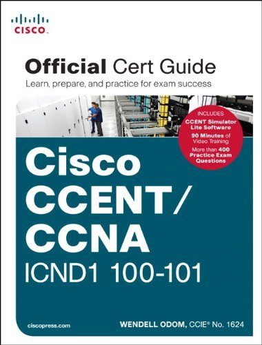 Wendell Odom Ccent Ccna Icnd1 100 101 Official Cert Guide