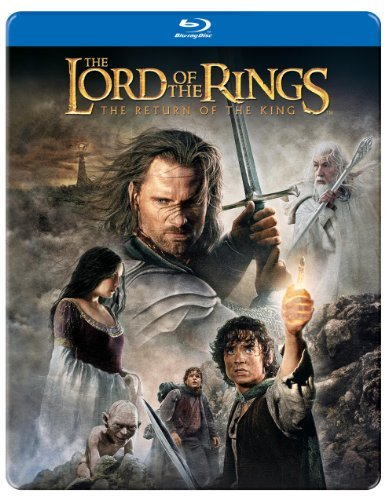 Lord Of The Rings Return Of Th Mortensen Tyler Monaghan Hawar Blu Ray Ws Steelbook