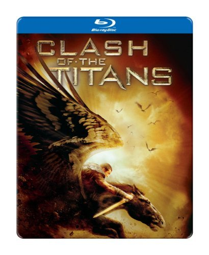 Clash Of The Titans Worthington Neeson Letterier Blu Ray Ws Steelbook R