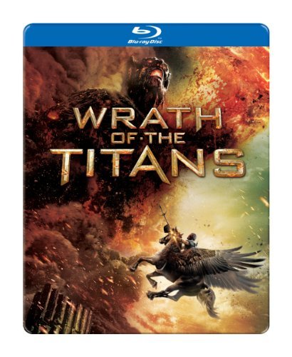 Wrath Of The Titans Worthington Neeson Fiennes Hus Blu Ray Ws Steelbook Pg13