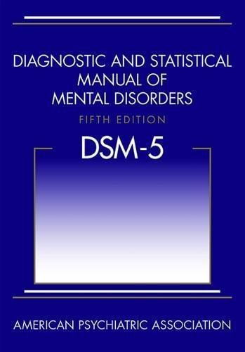 American Psychiatric Association Diagnostic And Statistical Manual Of Mental Disord
