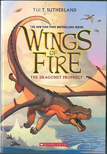 Tui T. Sutherland The Dragonet Prophecy Wings Of Fire