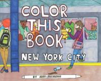 Abbi Jacobson Color This Book New York City Color This Book