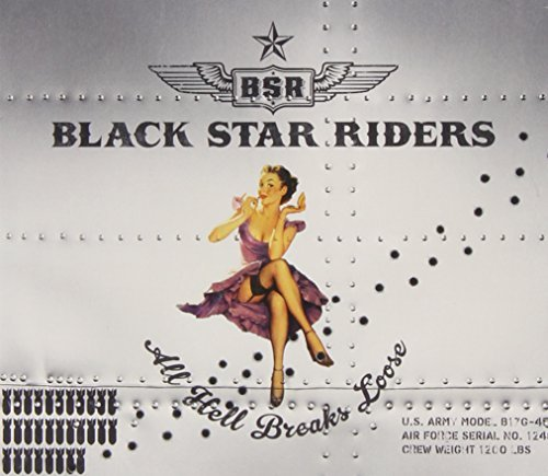 Black Star Riders All Hell Breaks Loose Deluxe Ed. Incl. DVD