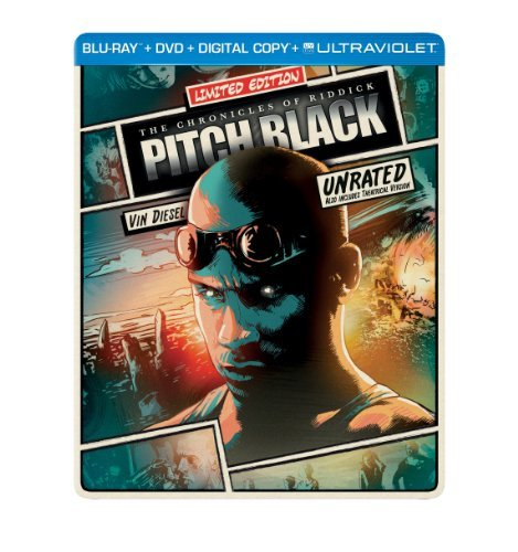 Pitch Black Chronicles Of Riddick Blu Ray Steelbook R