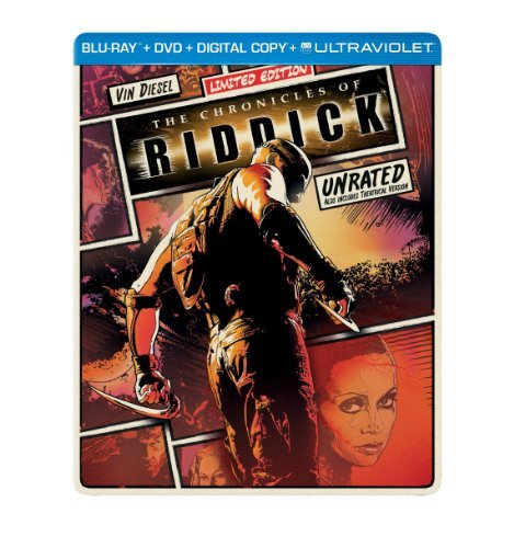 Chronicles Of Riddick Chronicles Of Riddick Blu Ray Steelbook Pg13