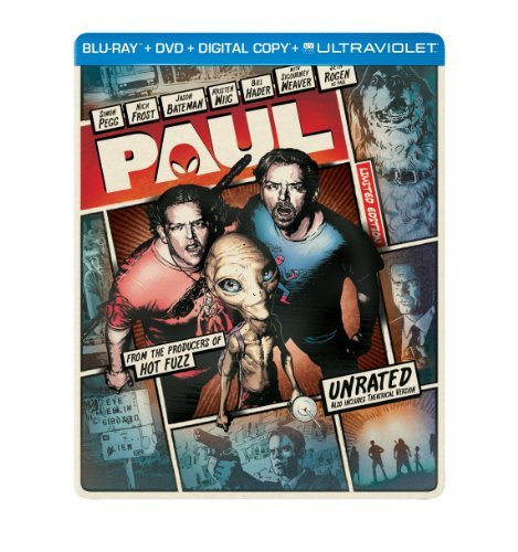 Paul Paul Blu Ray Ws Steelbook Lmtd Ed. R DVD Dc Uv