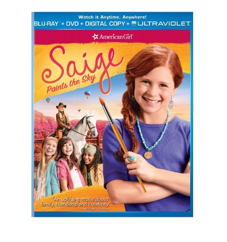 American Girl Saige Paints The Sky Blu Ray DVD Dc Nr