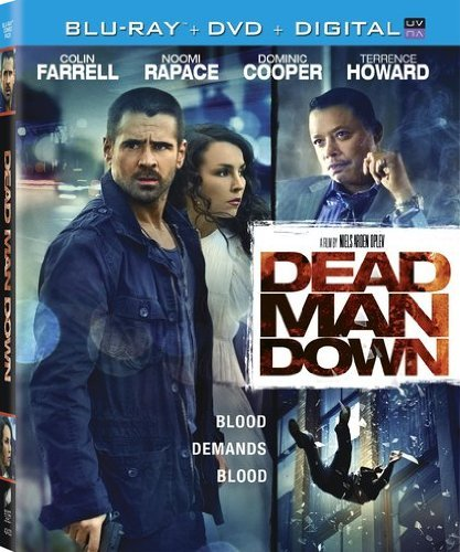 Dead Man Down Farrell Rapace Cooper Howard Blu Ray Ws R DVD Uv